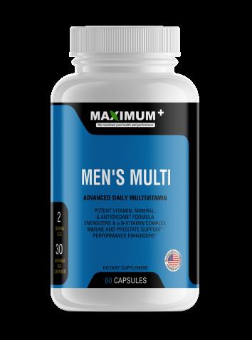 Men's Multi - Advanced Dietary Multivitamin - 60 capsules per pack