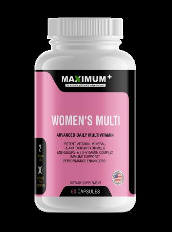 Women's Multi - Advanced Daily Multivitamin - 60 capsules per pack